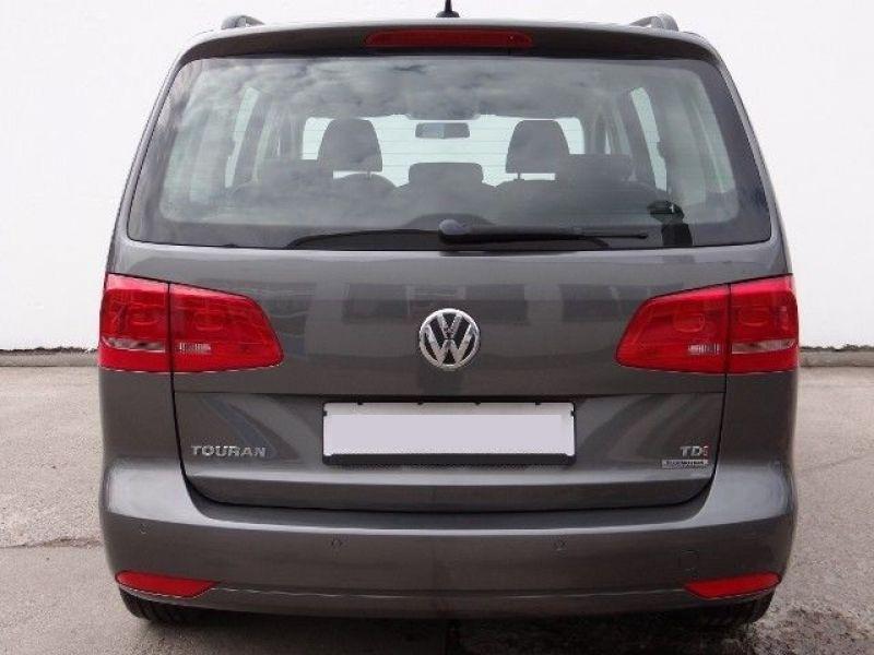 Volkswagen Touran 1.6 TDI 105 DSG Gris occasion à Beaupuy - photo n°9