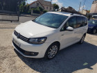 Volkswagen Touran 1.6 TDI 105 FAP Confortline DSG7 Blanc à Sarcelles 95