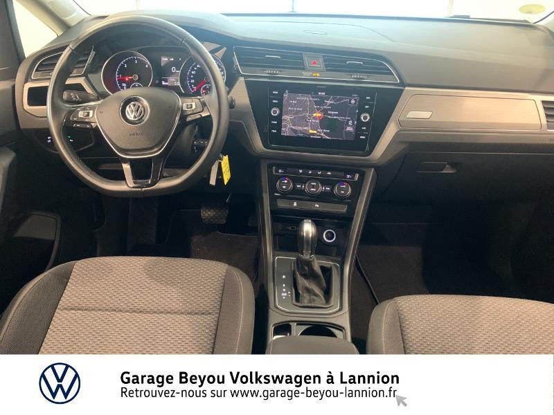 Volkswagen Touran 1.6 TDI 115ch BlueMotion Technology FAP Confortline Business Argent occasion à Lannion - photo n°6