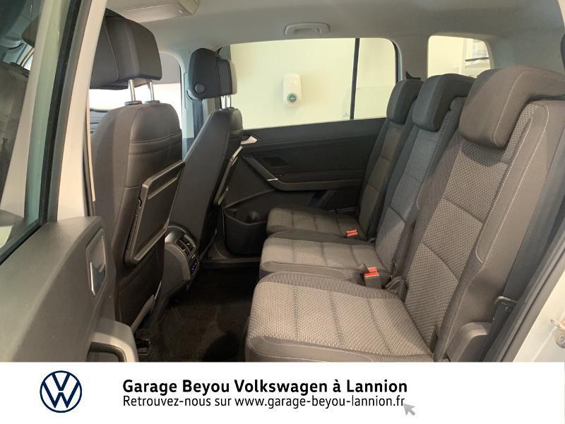 Volkswagen Touran 1.6 TDI 115ch BlueMotion Technology FAP Confortline Business Argent occasion à Lannion - photo n°11
