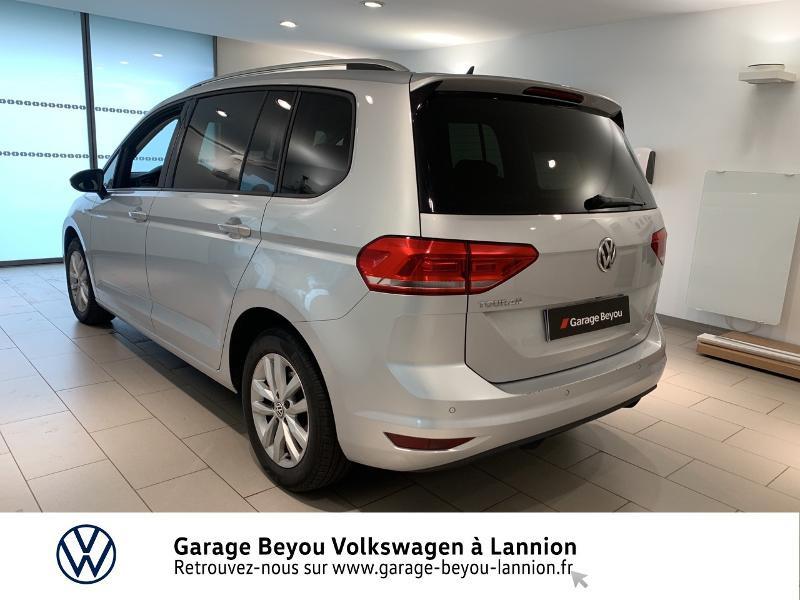 Volkswagen Touran 1.6 TDI 115ch BlueMotion Technology FAP Confortline Business Argent occasion à Lannion - photo n°3