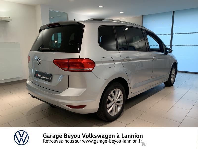 Volkswagen Touran 1.6 TDI 115ch BlueMotion Technology FAP Confortline Business Argent occasion à Lannion - photo n°4