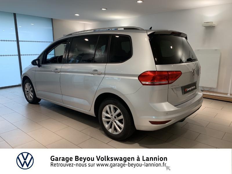 Volkswagen Touran 1.6 TDI 115ch BlueMotion Technology FAP Confortline Business Argent occasion à Lannion - photo n°2