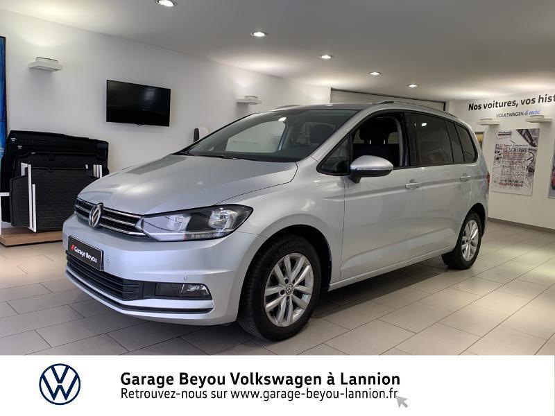 Volkswagen Touran 1.6 TDI 115ch BlueMotion Technology FAP Confortline Business Argent occasion à Lannion