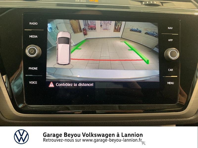 Volkswagen Touran 1.6 TDI 115ch BlueMotion Technology FAP Confortline Business Argent occasion à Lannion - photo n°17