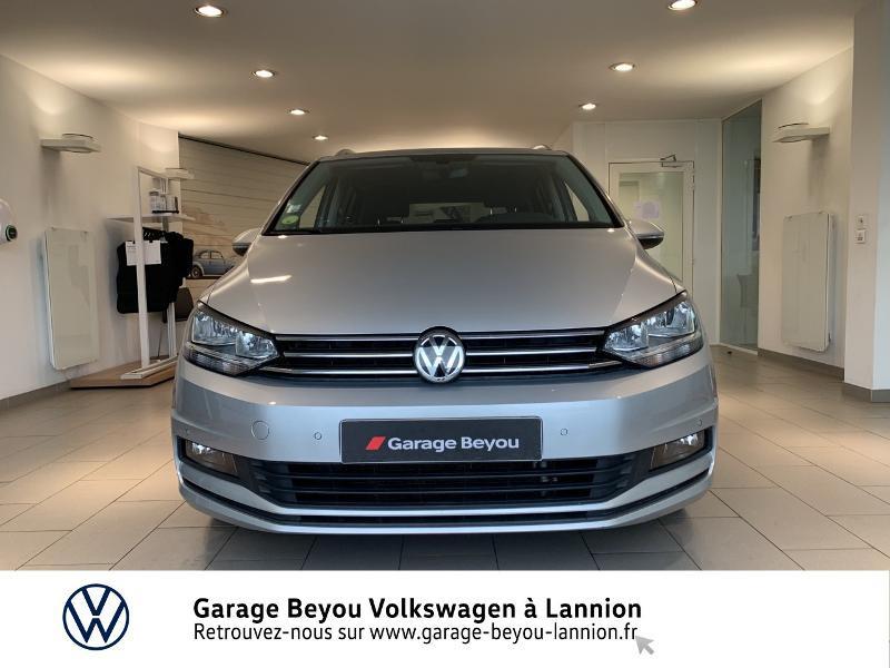 Volkswagen Touran 1.6 TDI 115ch BlueMotion Technology FAP Confortline Business Argent occasion à Lannion - photo n°5