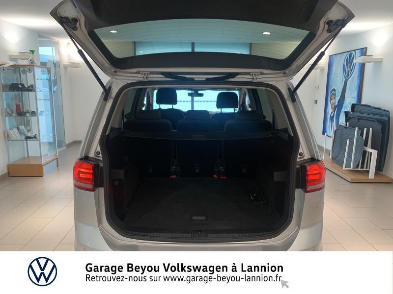 Volkswagen Touran 1.6 TDI 115ch BlueMotion Technology FAP Confortline Business Argent occasion à Lannion - photo n°12