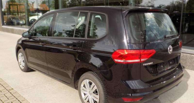Volkswagen Touran 1.6 TDi 115PK EURO 6B FACELIFT - GPS - PDC Noir occasion à Hooglede - photo n°4