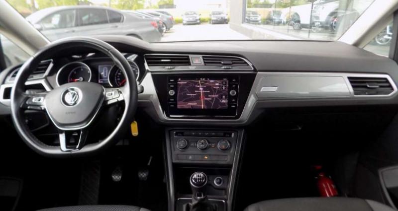 Volkswagen Touran 1.6 TDi 115PK EURO 6B FACELIFT - GPS - PDC Noir occasion à Hooglede - photo n°7