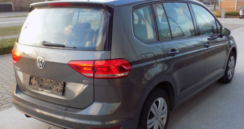 Volkswagen Touran 1.6 TDi SCR 115PK 7PL - GPS - PDC V&A - MISTLICHT Gris occasion à Hooglede - photo n°4