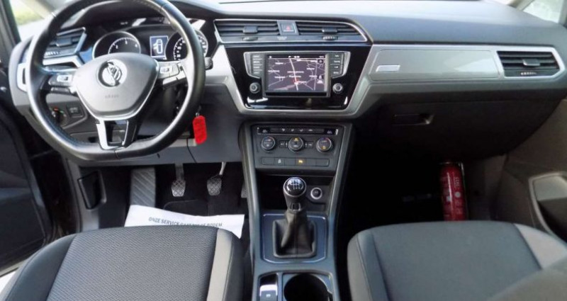 Volkswagen Touran 1.6 TDi SCR 115PK 7PL - GPS - PDC V&A - MISTLICHT Gris occasion à Hooglede - photo n°5