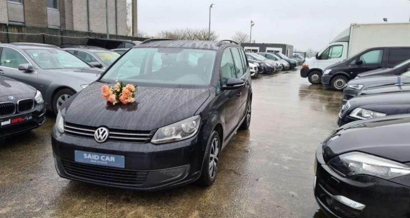 Volkswagen Touran 1598cc Ac GPs Euro 5 ct ok Noir occasion à Waregem - photo n°4