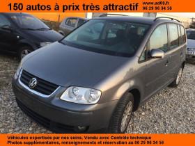 Volkswagen Touran Gris, garage VOITURE PAS CHERE RHONE ALPES à Saint-Bonnet-de-Mure