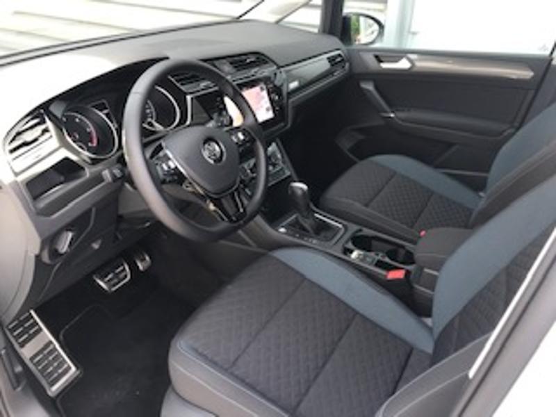 Volkswagen Touran 2.0 TDI 115ch FAP IQ.Drive DSG7 7 places Euro6d-T Blanc occasion à LESCAR - photo n°2