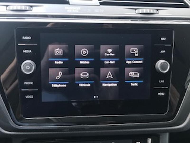 Volkswagen Touran 2.0 TDI 115ch FAP IQ.Drive DSG7 7 places Euro6d-T Blanc occasion à LESCAR - photo n°9