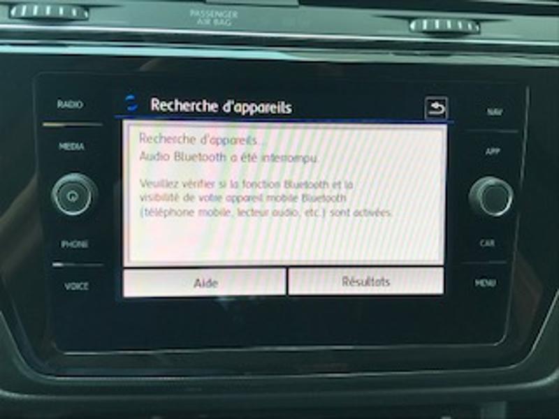 Volkswagen Touran 2.0 TDI 115ch FAP IQ.Drive DSG7 7 places Euro6d-T Blanc occasion à LESCAR - photo n°6