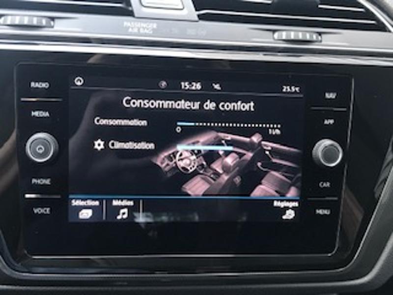 Volkswagen Touran 2.0 TDI 115ch FAP IQ.Drive DSG7 7 places Euro6d-T Blanc occasion à LESCAR - photo n°8