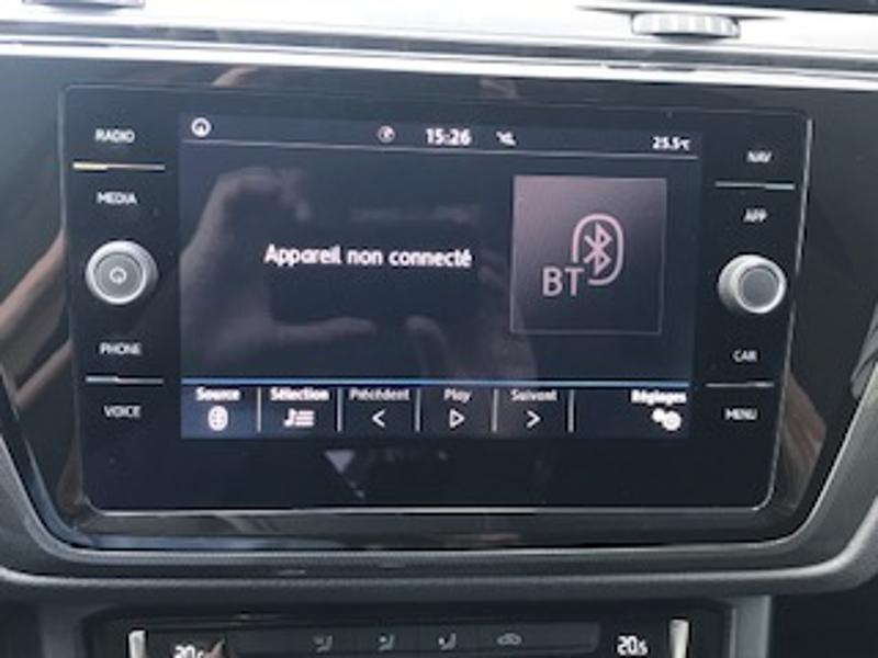 Volkswagen Touran 2.0 TDI 115ch FAP IQ.Drive DSG7 7 places Euro6d-T Blanc occasion à LESCAR - photo n°5
