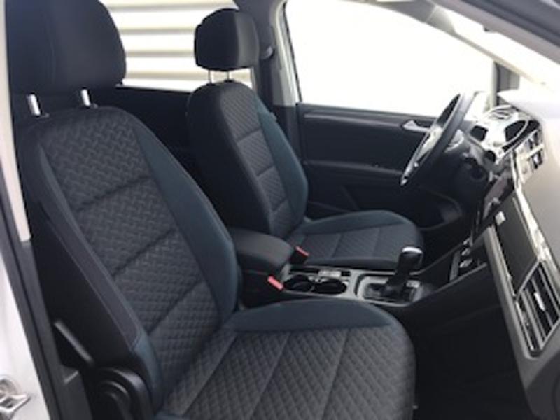 Volkswagen Touran 2.0 TDI 115ch FAP IQ.Drive DSG7 7 places Euro6d-T Blanc occasion à LESCAR - photo n°19