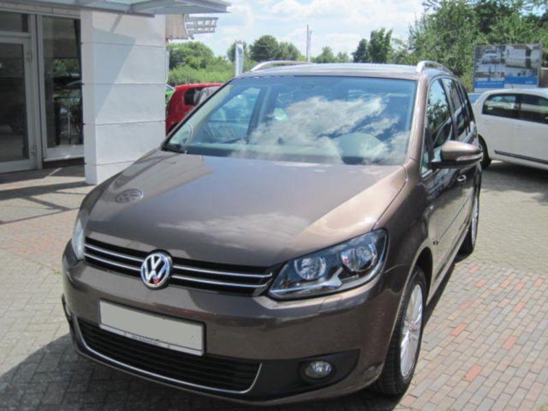Volkswagen Touran 2.0 TDI 140 Marron occasion à Beaupuy