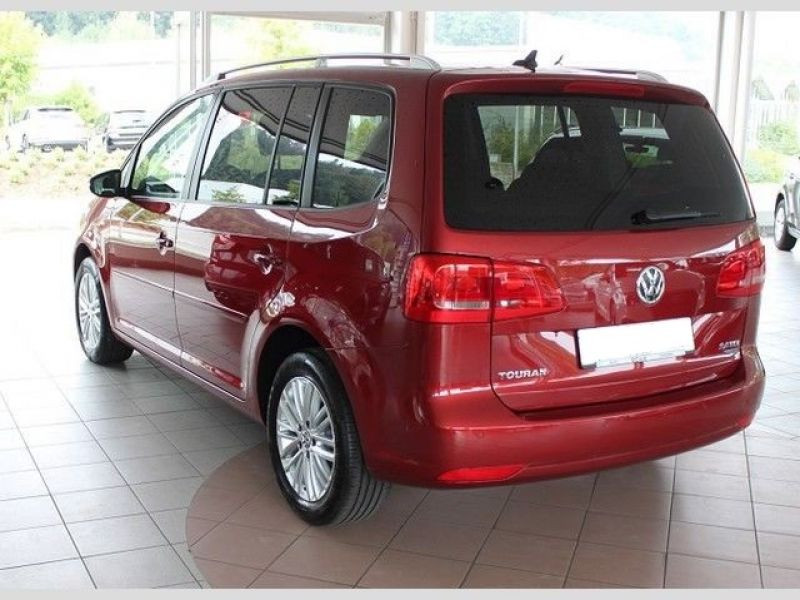 Volkswagen Touran 2.0 TDI 140 Rouge occasion à Beaupuy - photo n°3