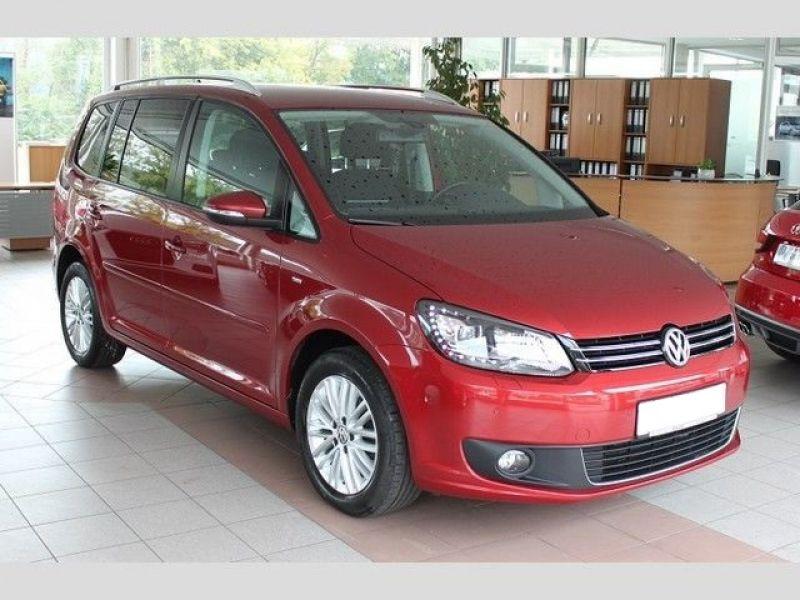 Volkswagen Touran 2.0 TDI 140 Rouge occasion à Beaupuy