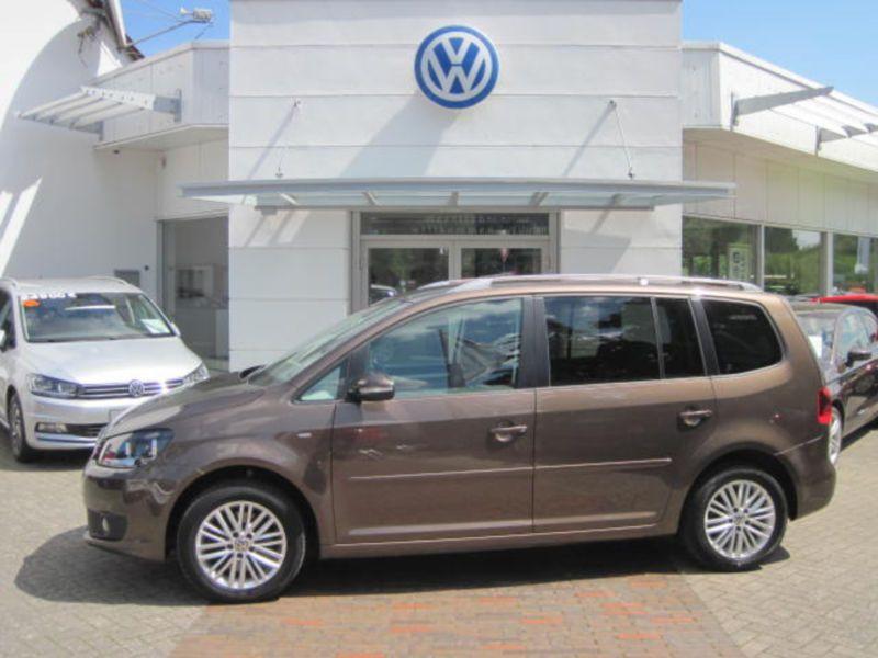 Volkswagen Touran 2.0 TDI 140 Marron occasion à Beaupuy - photo n°7
