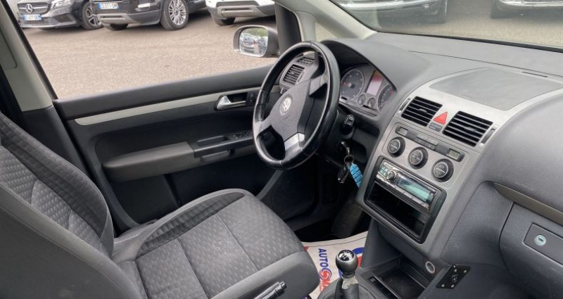 Volkswagen Touran 2.0 TDI 140CH CONFORT 7 PLACES Gris occasion à VOREPPE - photo n°2