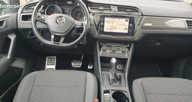 Volkswagen Touran carat tdi 7 places dsg 7 Noir occasion à MONTROND LES BAINS - photo n°2