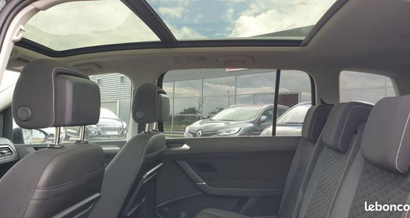 Volkswagen Touran carat tdi 7 places dsg 7 Noir occasion à MONTROND LES BAINS - photo n°4