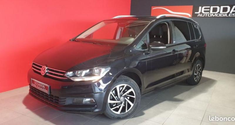 Volkswagen Touran carat tdi 7 places dsg 7 Noir occasion à MONTROND LES BAINS