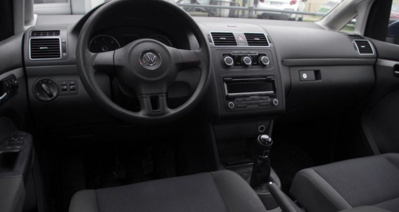 Volkswagen Touran II 1.6 TDI 105 FAP TRENDLINE Bleu occasion à Chambourcy - photo n°2