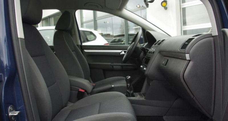 Volkswagen Touran II 1.6 TDI 105 FAP TRENDLINE Bleu occasion à Chambourcy - photo n°3