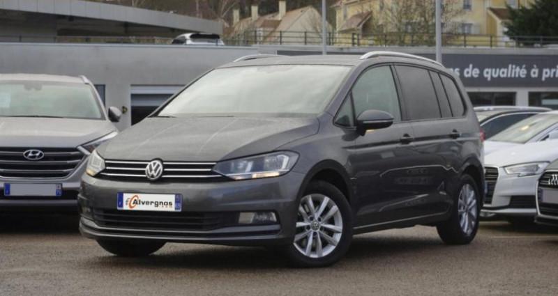 Volkswagen Touran III 1.6 TDI 110 BLUEMOTION TECHNOLOGY CONFORTLINE BUSINESS 7 Gris occasion à Chambourcy