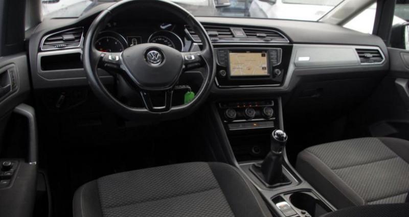 Volkswagen Touran III 1.6 TDI 110 BLUEMOTION TECHNOLOGY CONFORTLINE BUSINESS 7 Gris occasion à Chambourcy - photo n°2