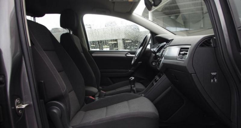 Volkswagen Touran III 1.6 TDI 110 BLUEMOTION TECHNOLOGY CONFORTLINE BUSINESS 7 Gris occasion à Chambourcy - photo n°3