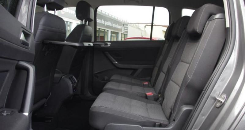 Volkswagen Touran III 1.6 TDI 110 BLUEMOTION TECHNOLOGY CONFORTLINE BUSINESS 7 Gris occasion à Chambourcy - photo n°4