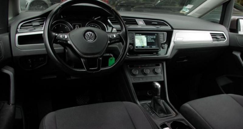 Volkswagen Touran III 1.6 TDI 110 BLUEMOTION TECHNOLOGY TRENDLINE BUSINESS DSG Beige occasion à Chambourcy - photo n°2