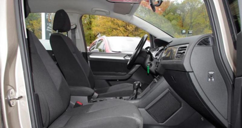 Volkswagen Touran III 1.6 TDI 110 BLUEMOTION TECHNOLOGY TRENDLINE BUSINESS DSG Beige occasion à Chambourcy - photo n°3