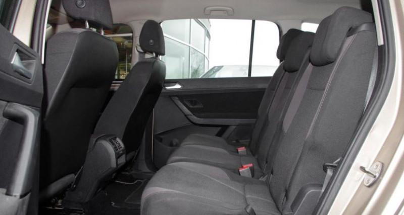Volkswagen Touran III 1.6 TDI 110 BLUEMOTION TECHNOLOGY TRENDLINE BUSINESS DSG Beige occasion à Chambourcy - photo n°4