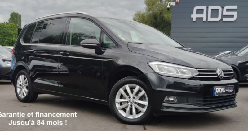 Volkswagen Touran III 1.6 TDI 115ch BlueMotion Technology FAP Confortline Busi Noir occasion à Diebling