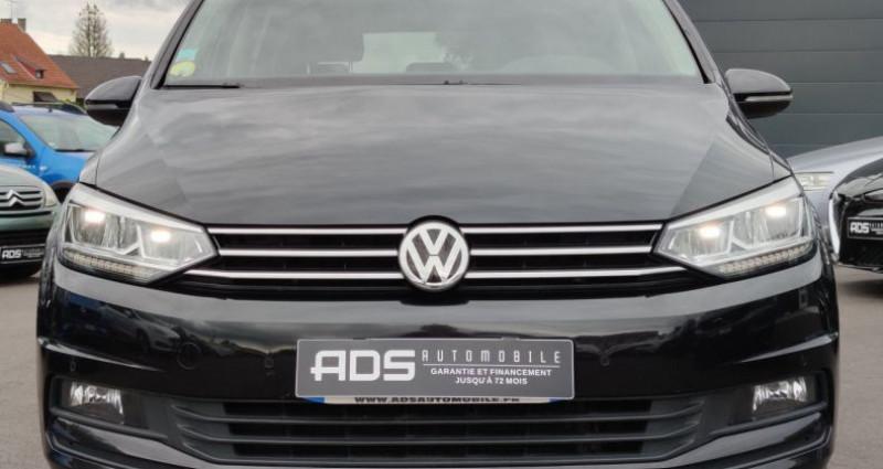 Volkswagen Touran III 1.6 TDI 115ch BlueMotion Technology FAP Confortline Busi Noir occasion à Diebling - photo n°2