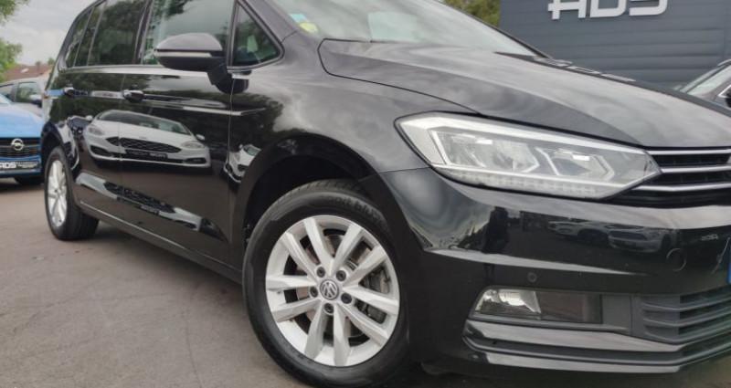 Volkswagen Touran III 1.6 TDI 115ch BlueMotion Technology FAP Confortline Busi Noir occasion à Diebling - photo n°5