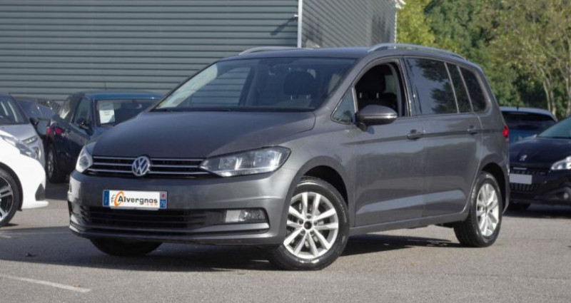 Volkswagen Touran III 2.0 TDI 150 BLUEMOTION TECHNOLOGY CONFORTLINE BUSINESS D Gris occasion à Chambourcy