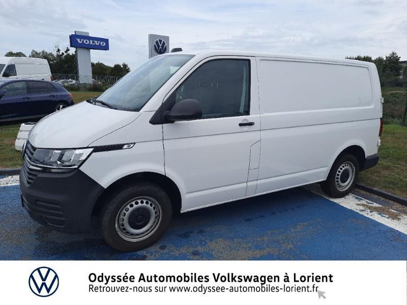 Volkswagen Transporter 2.8T L1H1 2.0 TDI 150ch Business Line DSG7 Blanc occasion à Lanester - photo n°2