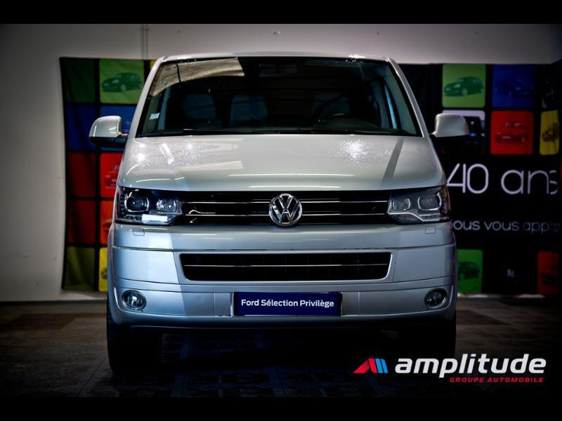 Volkswagen Transporter 2.8T L1H1 2.0 TDI 180ch Business Line DSG7 Gris occasion à Dijon - photo n°2