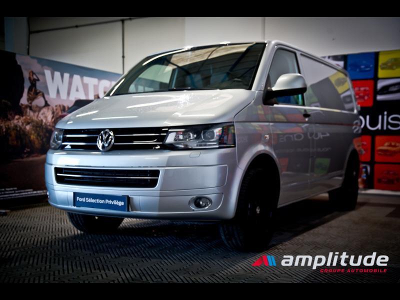 Volkswagen Transporter 2.8T L1H1 2.0 TDI 180ch Business Line DSG7 Gris occasion à Dijon - photo n°3