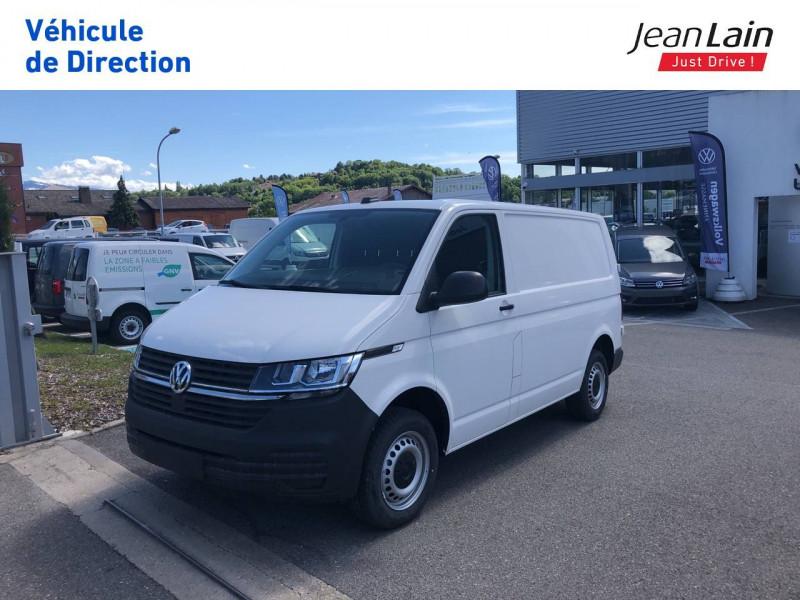 Volkswagen Transporter TRANSPORTER 6.1 FGN L1H1 2.0 TDI 90 BVM5 BUSINESS LINE 4p Blanc occasion à Annemasse