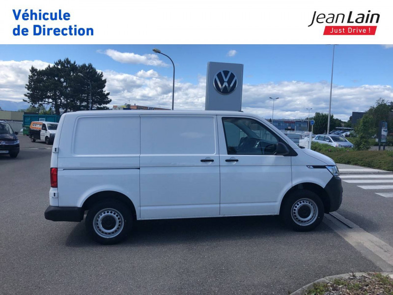 Volkswagen Transporter TRANSPORTER 6.1 FGN L1H1 2.0 TDI 90 BVM5 BUSINESS LINE 4p Blanc occasion à Annemasse - photo n°4