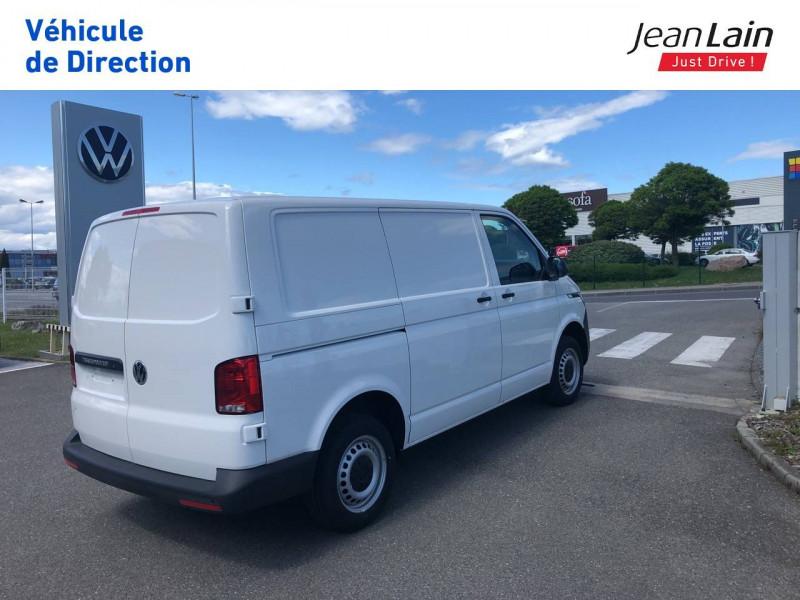 Volkswagen Transporter TRANSPORTER 6.1 FGN L1H1 2.0 TDI 90 BVM5 BUSINESS LINE 4p Blanc occasion à Annemasse - photo n°5